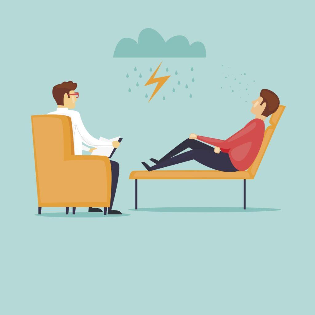 Depresjon kan behandles med både psykologsamtaler og medisiner.